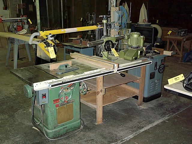 Delta Unisaw Table Saw 10 Powermatic Table Saw Rigid Radial